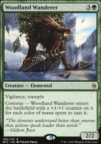 Woodland Wanderer - Battle for Zendikar