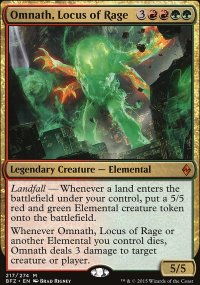 Omnath, Locus of Rage - Battle for Zendikar