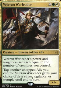Veteran Warleader - Battle for Zendikar