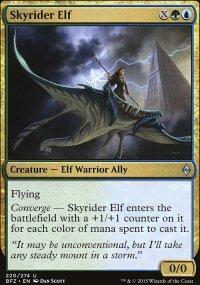 Skyrider Elf - Battle for Zendikar