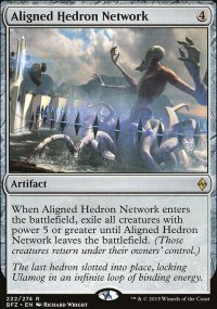 Aligned Hedron Network - Battle for Zendikar