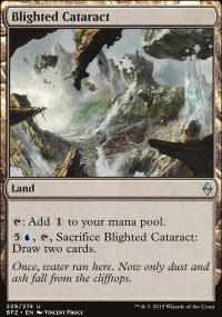 Blighted Cataract - Battle for Zendikar