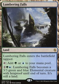 Lumbering Falls - Battle for Zendikar