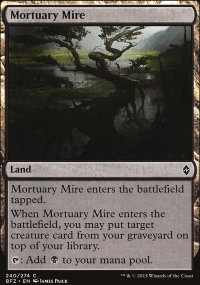 Mortuary Mire - Battle for Zendikar