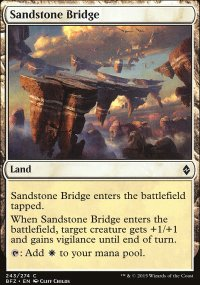 Sandstone Bridge - Battle for Zendikar