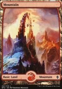 Mountain 5 - Battle for Zendikar