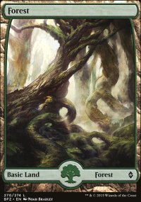 Forest 1 - Battle for Zendikar