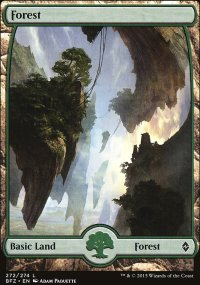 Forest 5 - Battle for Zendikar