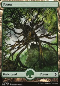 Forest 7 - Battle for Zendikar