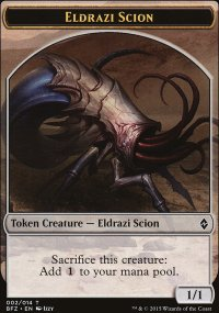 Eldrazi Scion 1 - Battle for Zendikar