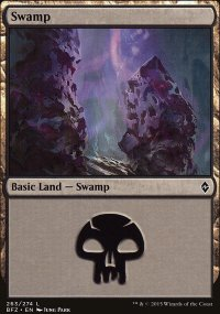 Swamp 8 - Battle for Zendikar