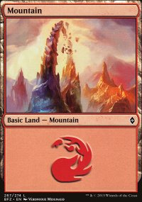 Mountain 6 - Battle for Zendikar