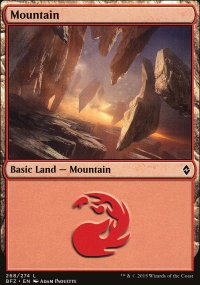 Mountain 8 - Battle for Zendikar
