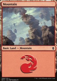 Mountain 10 - Battle for Zendikar