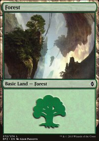 Forest 6 - Battle for Zendikar