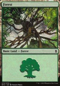 Forest 8 - Battle for Zendikar