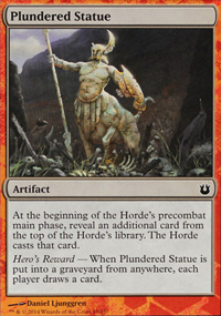 Plundered Statue - Born of the Gods Challenge Deck : Battle the Horde