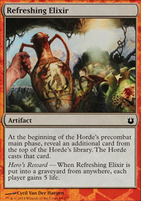 Refreshing Elixir - Born of the Gods Challenge Deck : Battle the Horde