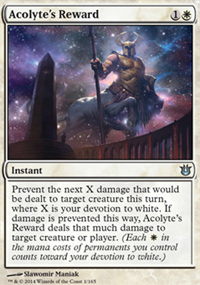 Acolyte's Reward - Born of the Gods