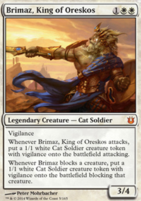 Brimaz, King of Oreskos - Born of the Gods