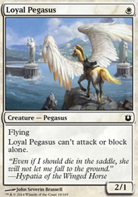 Loyal Pegasus - Born of the Gods