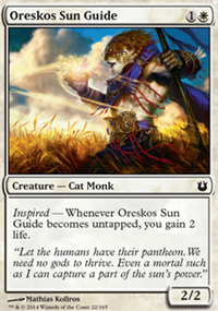 Oreskos Sun Guide - Born of the Gods