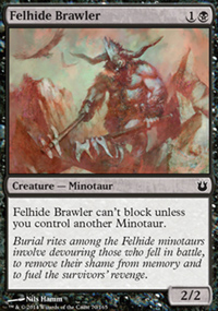 Felhide Brawler - Born of the Gods