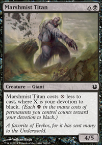 Marshmist Titan - Born of the Gods