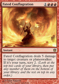 Fated Conflagration - Born of the Gods