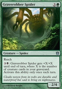 Graverobber Spider - Born of the Gods