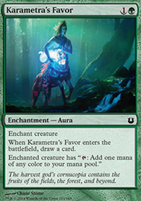 Karametra's Favor - Born of the Gods