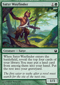 Satyr Wayfinder - Born of the Gods
