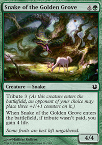 Snake of the Golden Grove - Born of the Gods