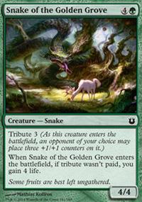 Snake of the Golden Grove - Born of the Gods
