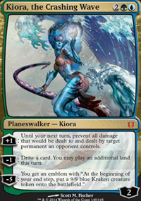 Kiora, the Crashing Wave - Born of the Gods