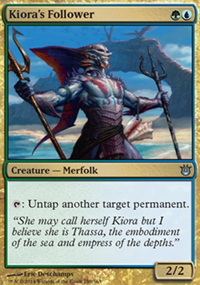 Kiora's Follower - Born of the Gods