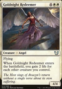 Goldnight Redeemer - Blessed vs. Cursed