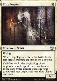 Topplegeist - Blessed vs. Cursed