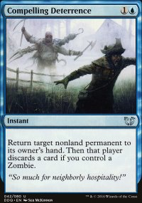 Compelling Deterrence - Blessed vs. Cursed