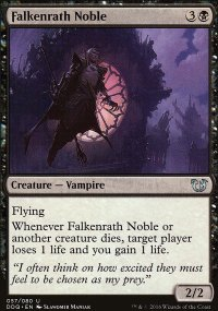 Falkenrath Noble - Blessed vs. Cursed