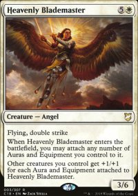 Heavenly Blademaster - Commander 2018