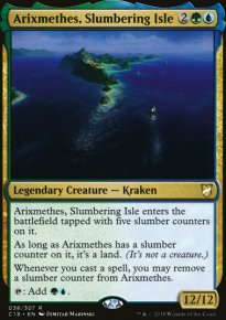 Arixmethes, Slumbering Isle - Commander 2018