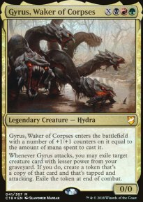 Gyrus, Waker of Corpses - Commander 2018