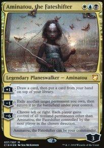 Aminatou, the Fateshifter - Commander 2018