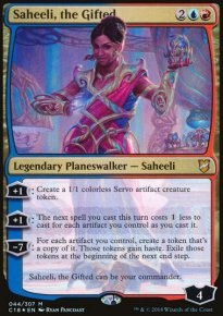 Saheeli, the Gifted - Commander 2018