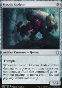Geode Golem - Commander 2018