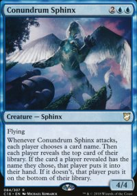 Conundrum Sphinx - Commander 2018
