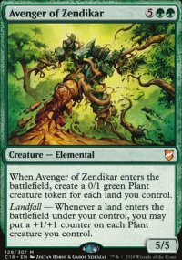 Avenger of Zendikar - Commander 2018