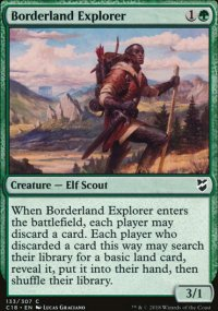 Borderland Explorer - Commander 2018