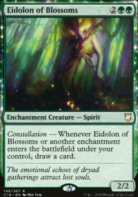 Eidolon of Blossoms - Commander 2018
